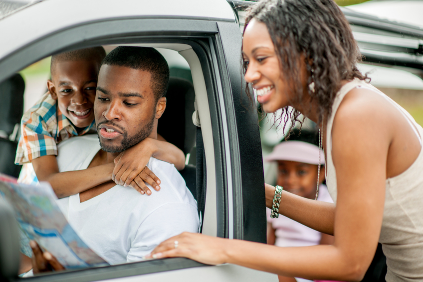 Family Planning their Driving Route