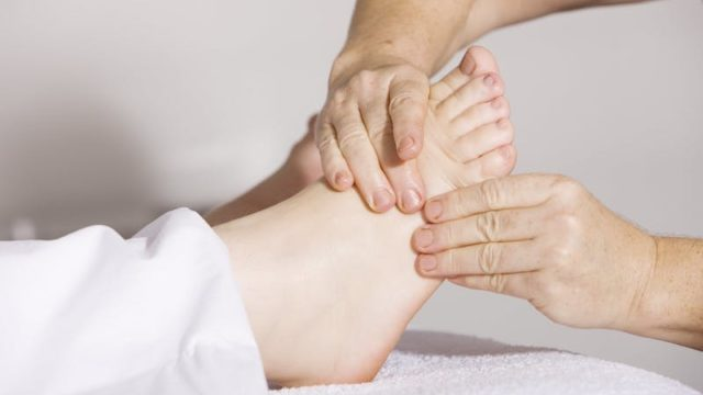 Lymphedema Treatment includes rigerous massage and compression of the extremities to reduce swelling.
